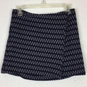 Elizabeth and James 2 NWT wrap skirt navy blue